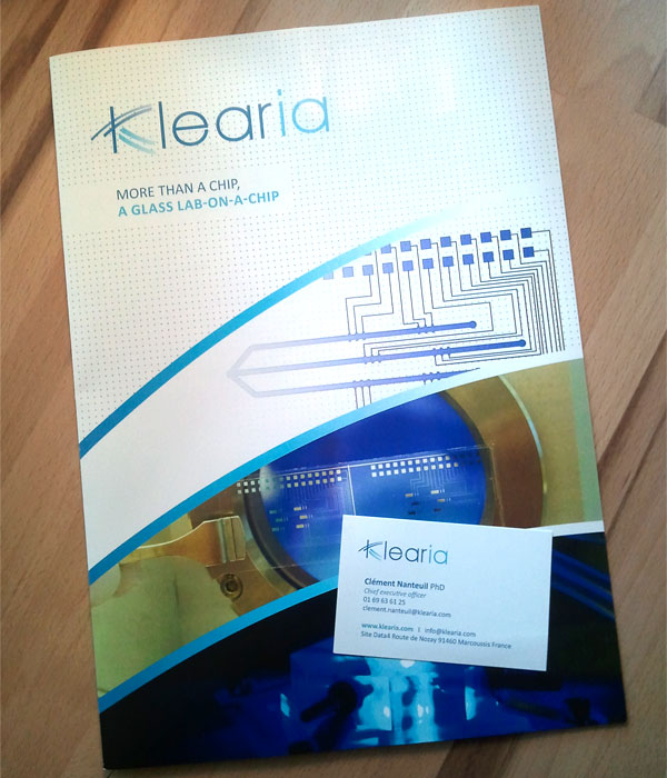 Klearia lab-on-chip innovants